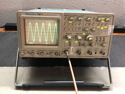 Tektronix 2465a 350 Mhz Analog Oscilloscope