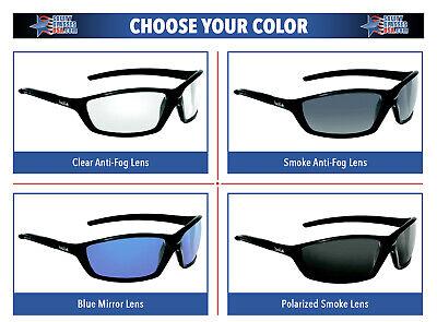 Bolle Solis Safety Glasses Sunglasses ANSI Z87+ Work Eyewear Choose (Solis Sunglasses)