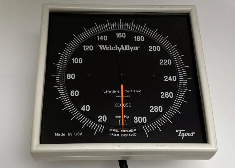 Welch Allyn 767 Wall Blood Pressure Gauge 7670 WITH CUFF