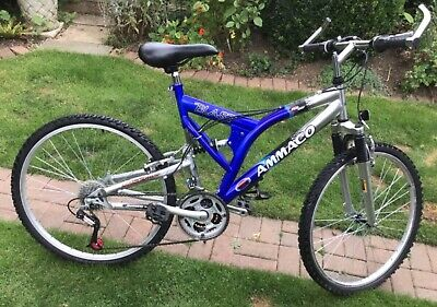 """Ammaco sport mens mountain bike 20"""" frame  26"""" wheel , 24 speed twist grip gears"""