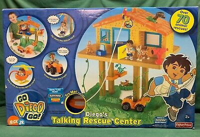 Go Diego Go Toys (Go Diego Go Talking Animal Rescue Center Nick Jr Playset BRAND)