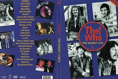 THE WHO Houston Summit 1975 + Pontiac 1975 & BBC 1973 Original DVD New