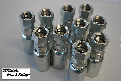Weatherhead Hydraulic Hose Fitting 06u608 Interchange Style 10 Pkg 8fjic