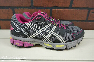EXC! ASICS Gel-Kahana 7 Womens Size 6.5 Trail Running Shoes