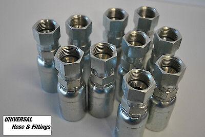 Weatherhead Hydraulic Hose Fitting 12u612 Interchange Style 6 Pkg 12 Fjic