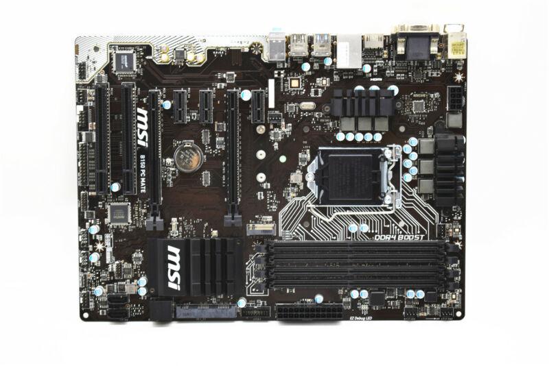 MSI PRO Series ATX Motherboard 2133MHz (Socket 1151) B150PCMATE