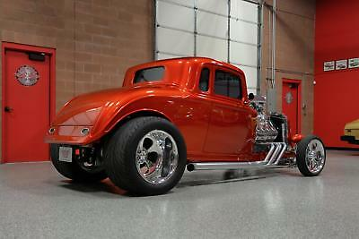 1934 5-Window Coupe Blown Hemi 1934 PLYMOUTH 5-WINDOW COUPE Hand-Built 392ci BLOWN HEMI *All Steel MASTERPIECE!
