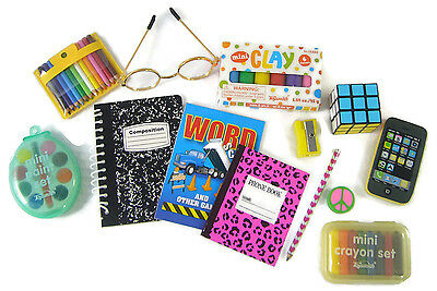 "NEW! School Supplies Set works for 18"" American Girl Dolls Accessories"