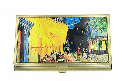 Value Arts Vincent Van Gogh Cafe Terrace at Night Business Card Case,