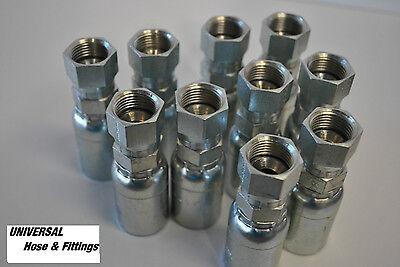 Weatherhead Hydraulic Hose Fitting 04u604 Interchange Style 10 Pkg 4 Fjic