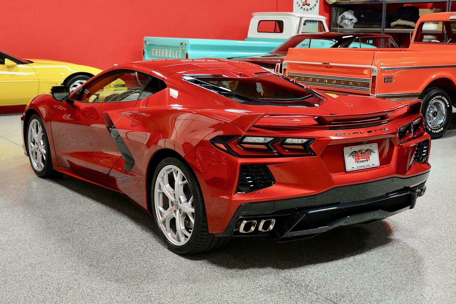 2021 Red Chevrolet Corvette  3LT | C7 Corvette Photo 9