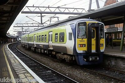 CIE DMU 2602 Dublin Connolly 2003 Eire Rail Photo
