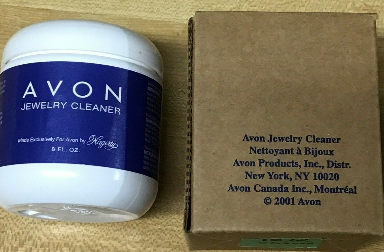 Avon Jewelry Cleaner By Hagerty 8 Fl Oz Sealed With Brush 20