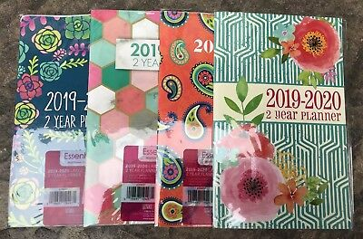 2019 -2020 two year Monthly Planner Calendar  5