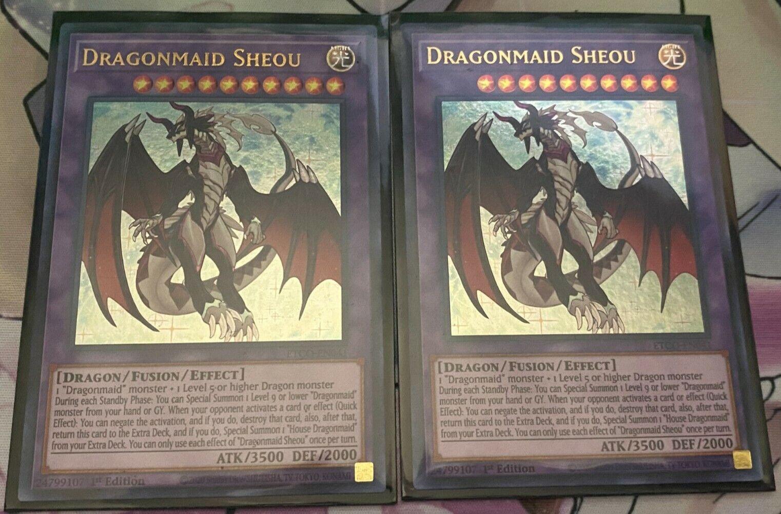 Yugioh 2X Dragonmaid Sheou - $12.00