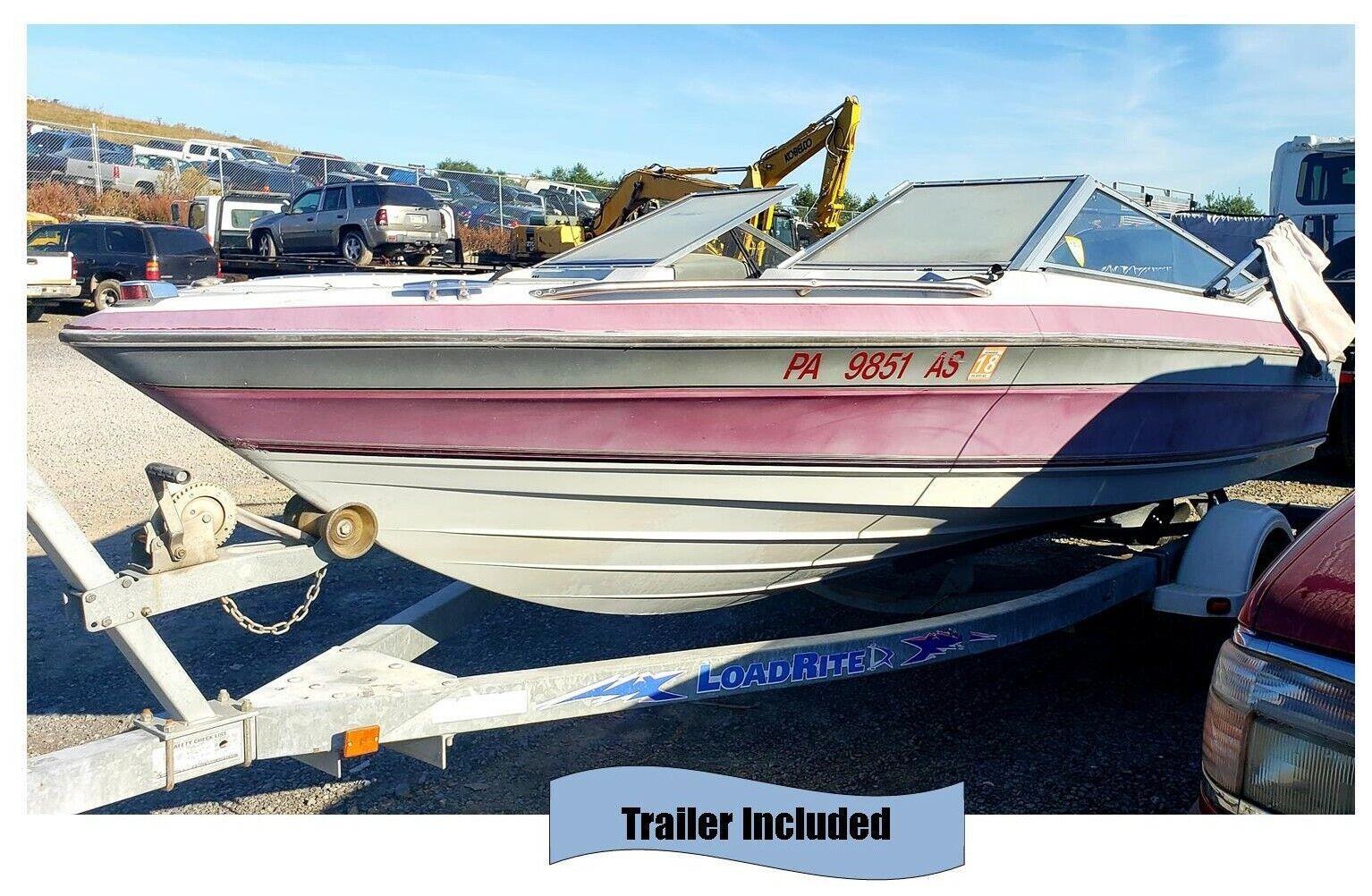 Used Maxum Bayliner Boat & Boat Trailer (85 HP Motor- Runs)
