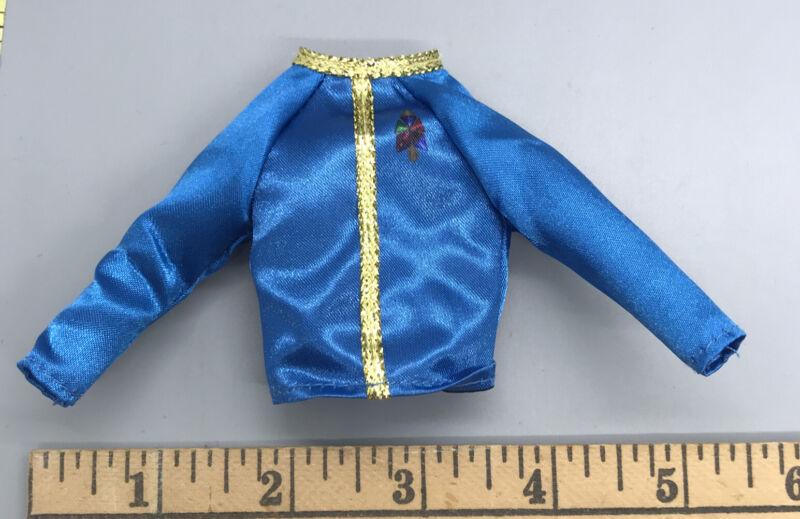 """Mr. Spock Blue Dress Uniform Shirt part piece Star Trek Mego parts fodder 8"""" NEW"""