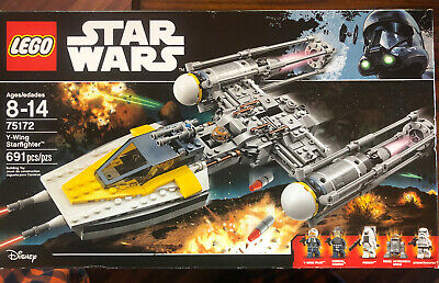 Lego Star Wars 75172 Y-Wing Starfighter Rogue One 691 pcs Moroff Raddus RETIRED