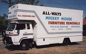 * Business For Sale * $42,500 neg ALL WAYS MICKEY MOUSE REMOVALS Modbury Heights Tea Tree Gully Area Preview