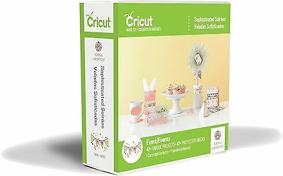 *New* Cricut SOPHISTICATED SOIREE Party Decor Cartridge Factory Sealed Free Ship - Soiree Party