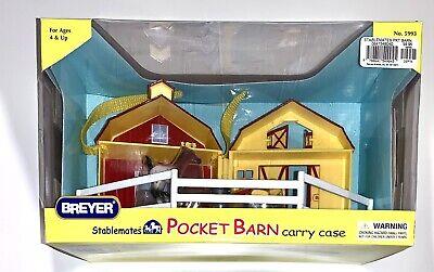 Breyer Stablemates Pocket Barn Carry Case #5993 NIB 1st Ed - Retired