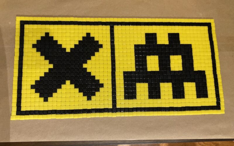 Space Invader Mosaic Tile Art Inspired by INVADER
