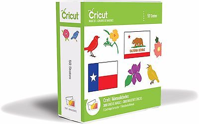 50 States Cricut Cartridge   Brand New Sealed In Package   Classmates   Crafting