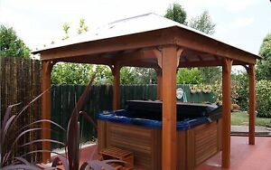 Timber Gazebo Layabout - Australian Made New Ferntree Gully Knox Area Preview