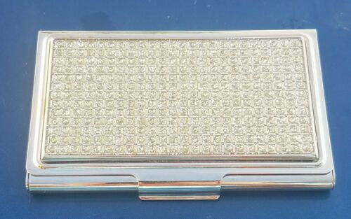 Business Card/Credit Card/ID Holder. Silver/Gold Tone