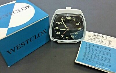 Vintage Westclox Alarm Clock, Mechanical, Bakelite. Scotland, New Old Stock
