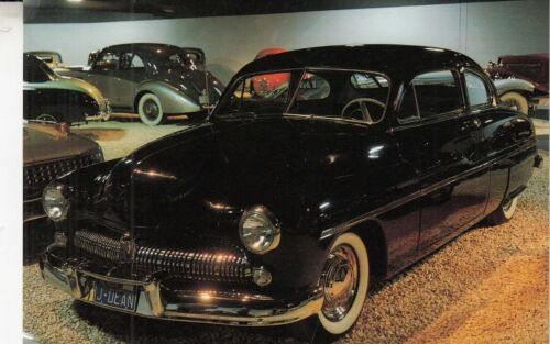 1949 Mercury Coupe Postcard - James Dean drove in Rebel Without a Cause