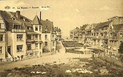 CPA - Belgique -  De Panne - La Panne - Square Albert 1er
