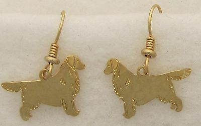 - Golden Retriever Jewelry Gold Silhouette Earrings by Touchstone Dog Designs