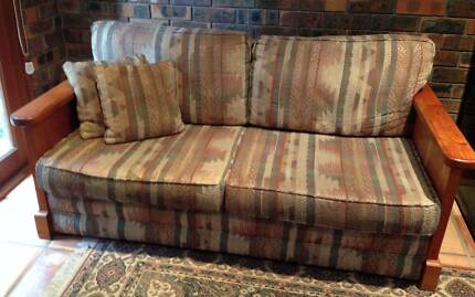 Beautiful oregon 2.5 seater sofa bed & 2 seater sofa East Ryde Ryde Area Preview
