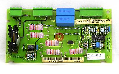Siemens Vdu Voltage Divider Board - 6se7038-6gl84-1jb0