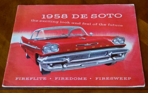 DeSoto prestige sales brochure Prospekt, 1958
