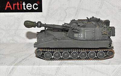 Artitec 6870095 Panzerhaubitze M109 G Bw oliv Eisenbahntransport NEU & OVP 1:87