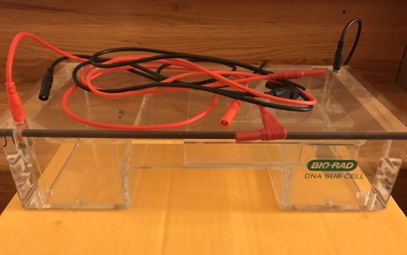 Bio Rad DNA Sub Cell Electrophoresis Gel Box