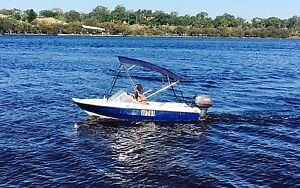 13ft runabout yamaha 40hp Helena Valley Mundaring Area Preview