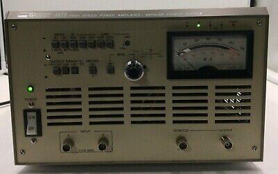 Nf Electronics Instrument High Speed Power Amplifierbipolar 4020