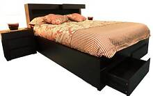 Queen Bed Black Beechboro Swan Area Preview