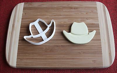 Cowboy Hat Cookie Cutter Cake Topper Fondant Cutter Cupcake Topper - Cowboy Hat Cupcakes