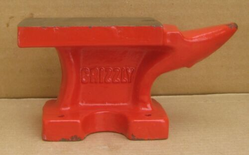 """Grizzly  Anvil Small 5"""" Long 2lb USED"""