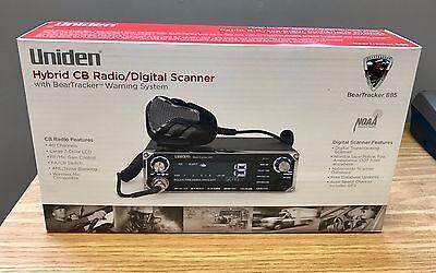 Uniden BearTracker 885 Hybrid CB Radio & Digital Scanner w/ BearTracker Warning