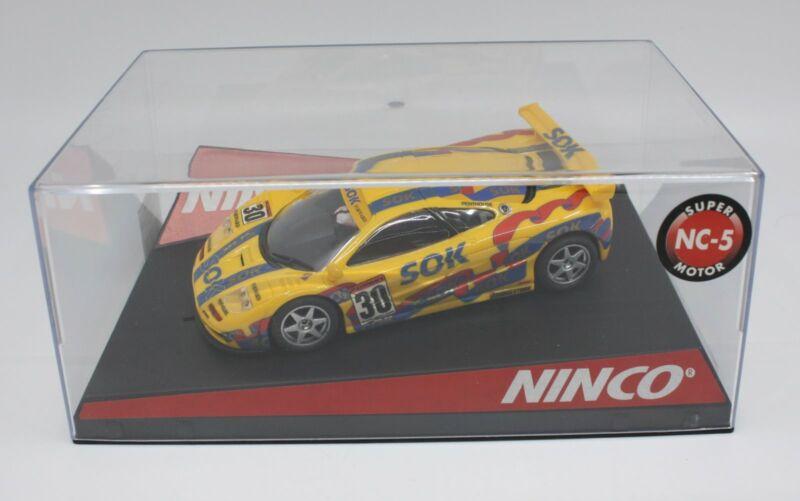 """Ninco 50324 1/32 Slot Car #30 McLaren F1 GTR """"SOK"""""""