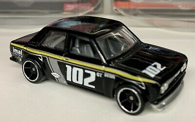 Hot Wheels Datsun Bluebird 510 - 2009 New Model - Black Variant W/OH5s - LOOSE