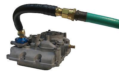 6.0L Ford Powerstroke Diesel Oil Cooler Flush Kit Tool 2003 - 2010 BLUE