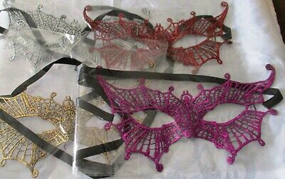 Fetish Lace Eye Mask SM  Erotic  Masquerade Ball Carnival Fancy Party - Spider  Spider Eye Mask
