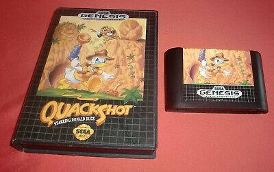 Megadrive 1 & 2 Quackshot Starring Donald Duck [PAL] Sega *JRF*