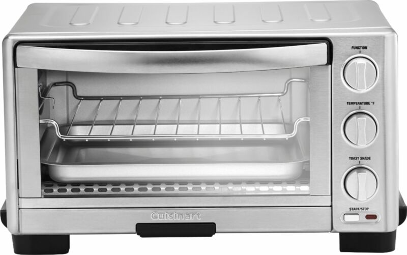 Cuisinart - 6-Slice Toaster Oven with Broiler - Stainless Steel